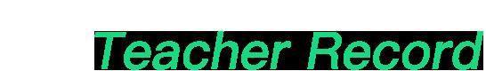 teacherrecord logo