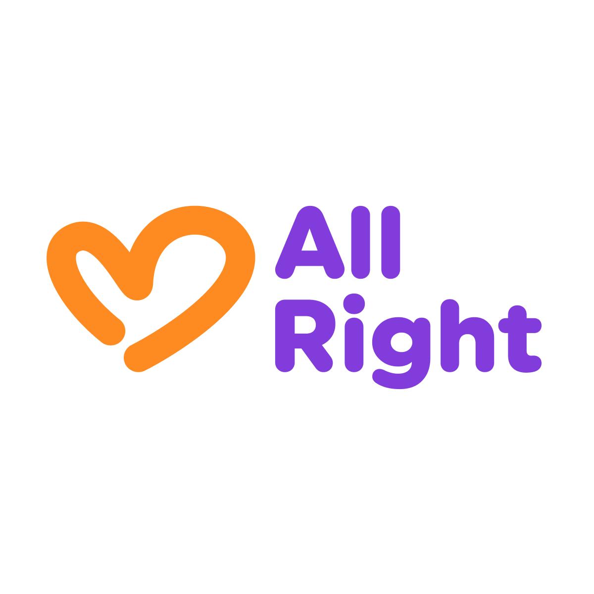 Online English TeacherAllRight Logo